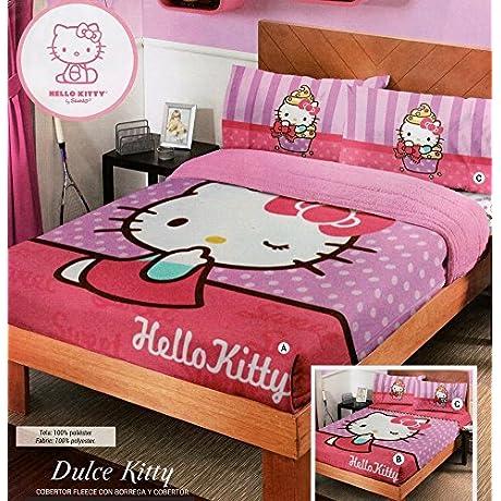 Fuzzy Fleece Blanket Dulce Kitty Full