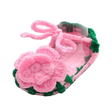 BABY GIRLS CROCHET HAND MADE FUR PINK WHITE SANDALS SHOES CLOTHES SOCKS