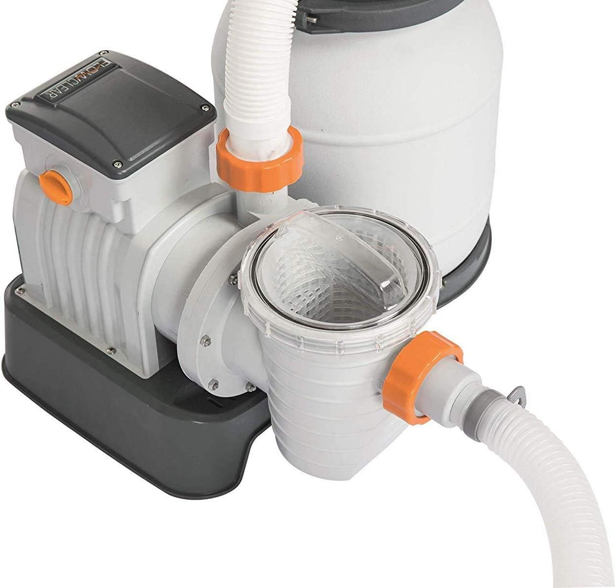 Bestway Pompe Filtre A Sable 3785 Lt H Mod 58400 Pour Piscine Cod Ferr 260602 Amazon Fr Cuisine Maison