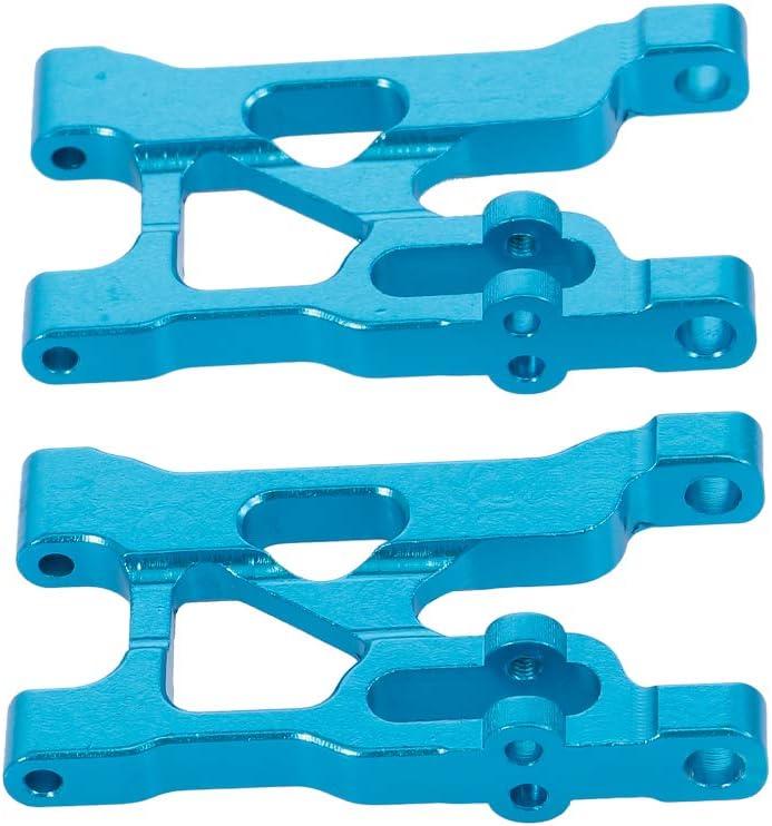 Goolsky Front Lower Querlenker Aluminiumlegierung Für 1 12 Rc Crawler Wltoys 12428 12423 Fy01 Fy02 Fy03 Fy04 Fy05 Fy05 Rc Geländewagen 2 Pcs Spielzeug