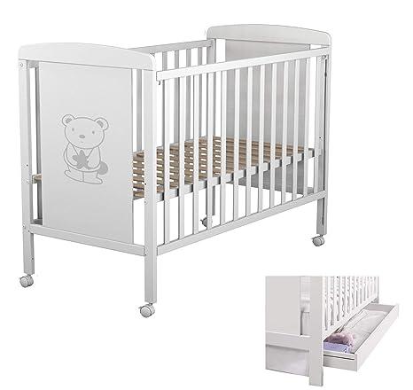 Star Ibaby Sweet Bear - Cuna de bebés con cajón, unisex