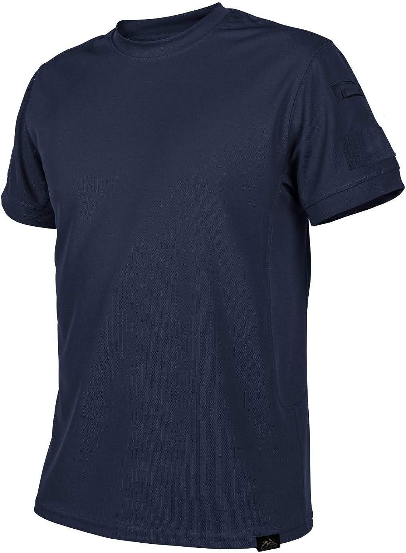 Helikon-Tex Hombre Tactical Camiseta - TopCool Lite Navy Blue ...