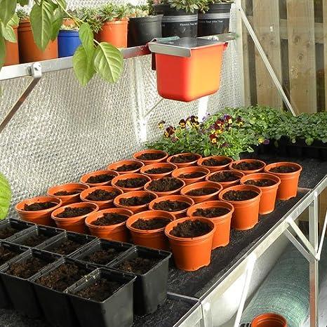 T4U 14.9 cm Plastique Pépinière pots de fleurs avec palette-Lot de 10