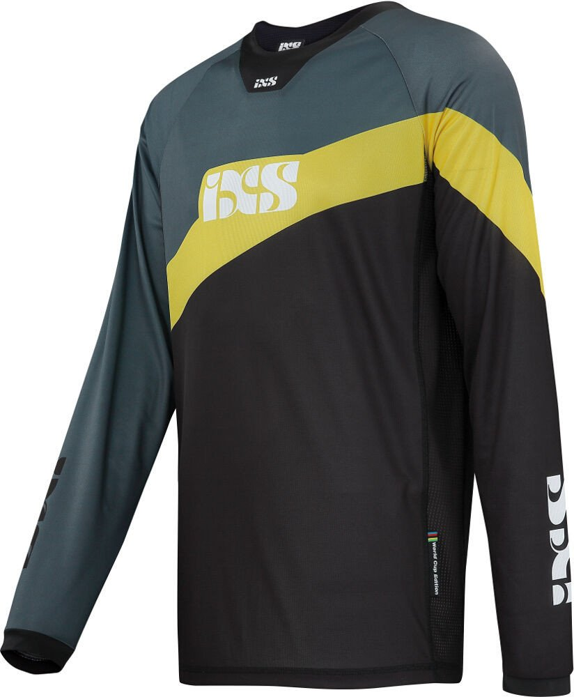 IXS Downhill-Jersey Race 7.1 Schwarz Gr. M