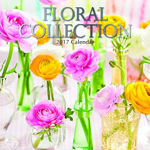 "Floral Arrangements & Bouquets Collection 2017 Monthly Wall Calendar, 12"" x 12"""