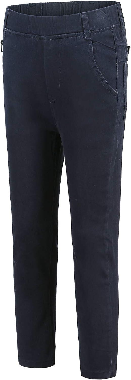 Child Kids Boys Slim-fit Classic Chino Pants Uniform Clothing Bottom