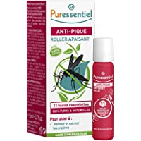 Puressentiel Anti-Sting Soothing Roll-on 5 ml - Bite & Sting from mosquitoes, bees, insects - 100% pure & natural…