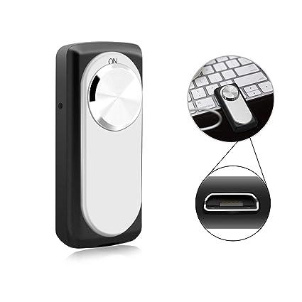 Mini grabadora de voz, MILALOKO 20 Hours Battery Life grabadora de voz digital de 8GB, grabadora de sonido pequeña