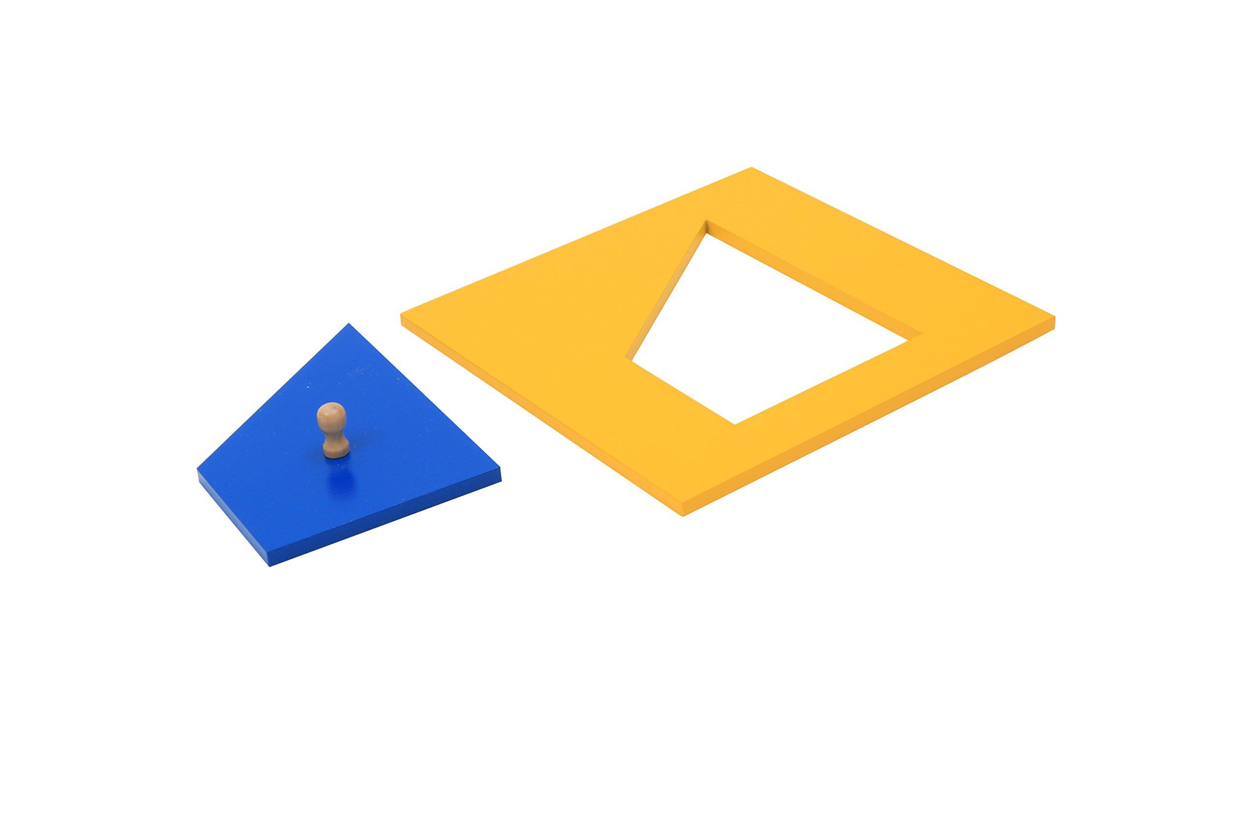 Geometric Cabinet (Blue)