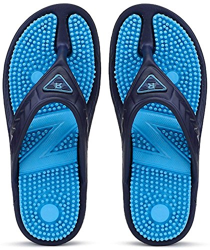 DzVR Comfortable Acupressure Health Care Flip Flops Slipper for Men