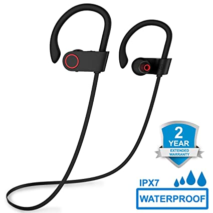 Auriculares Bluetooth 4.1, ARTHOME Auriculares Inalambricos, Auriculares Deportivos Bluetooth, Cascos Bluetooth Inalambricos,