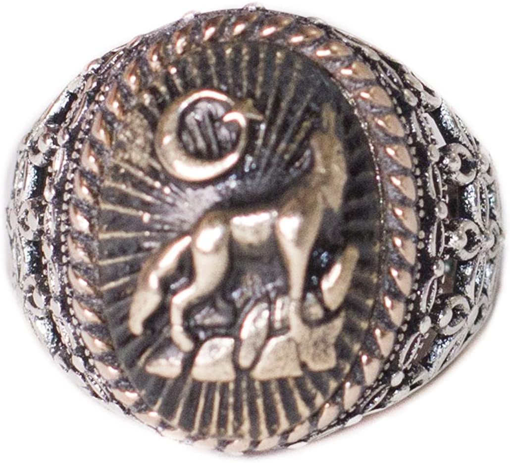Falcon Jewelry 925 Sterling Silver Men Ring Wolf Ring Free Express Shipping Wildlife and Wolf Animal Ring