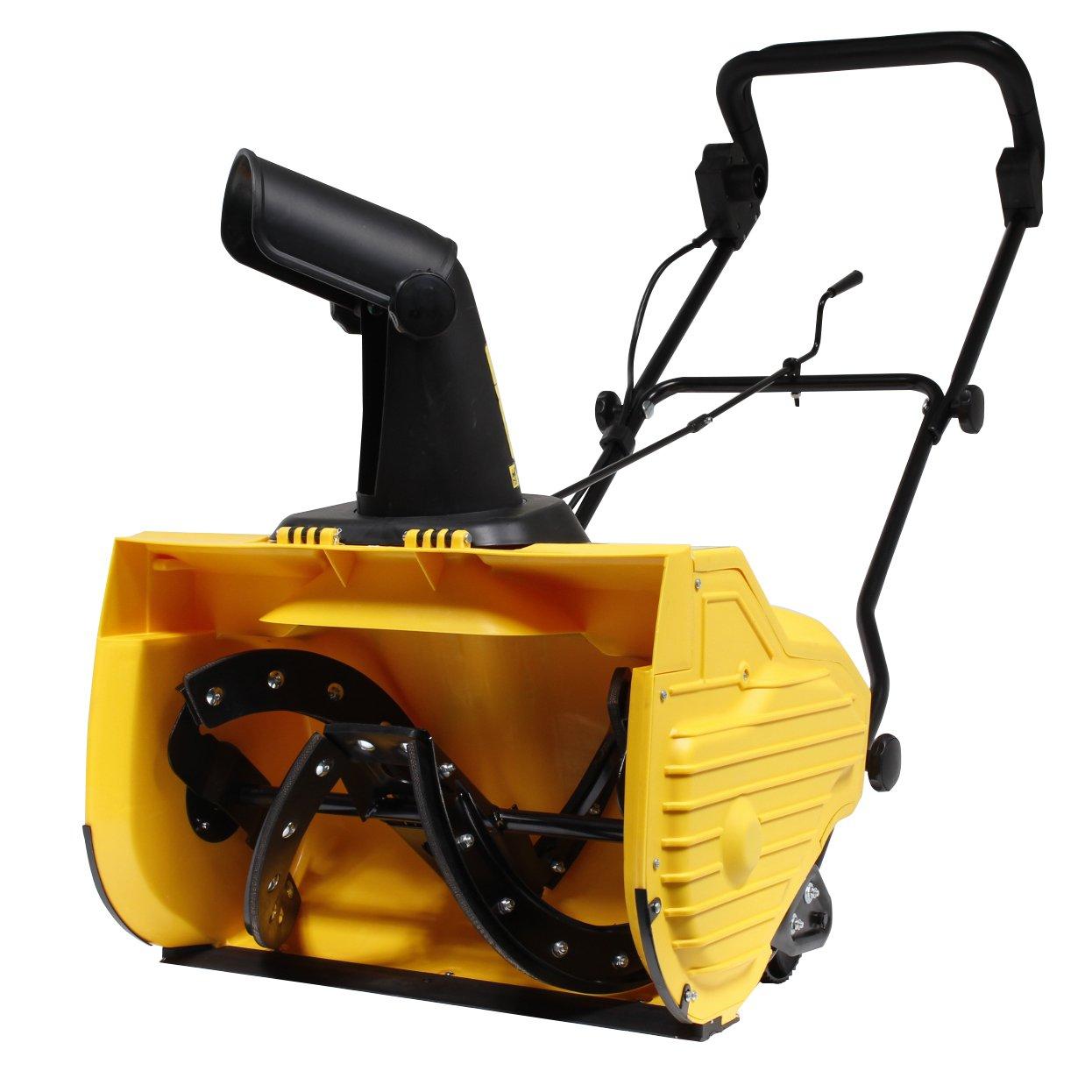 HAIGE [1年保証] 電動 除雪機 HG-K1650 除雪幅50cm 1600Wモーター搭載