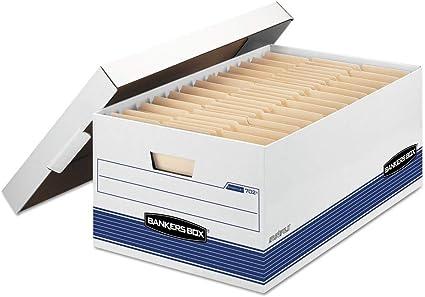 bankersbox 702 Stor/caja de almacenamiento de archivos, Legal ...
