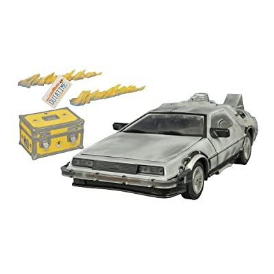 DIAMOND SELECT TOYS Back to The Future: Iced Time Machine Collector's Set Vehicle: Toys & Games