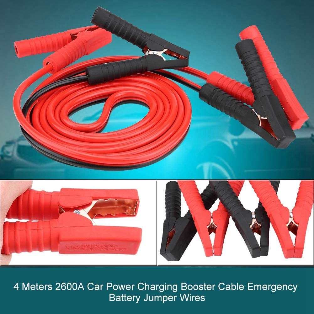 Aramox Battery Jumper Cables,3 Meters 2200A Car Power Charging Booster Cable Emergency Battery Jumper Wires