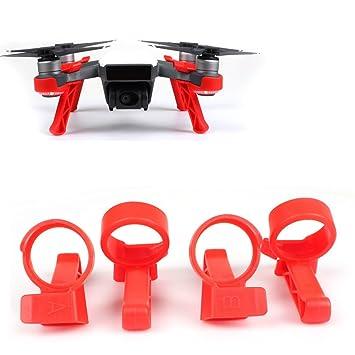 Flycoo Tren de Aterrizaje para dji Spark Drone - 3CM Amplificador ...