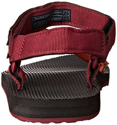 Teva Menns Opprinnelige Universell Gradient Sandal Avfyrt Mur / Avling Brun