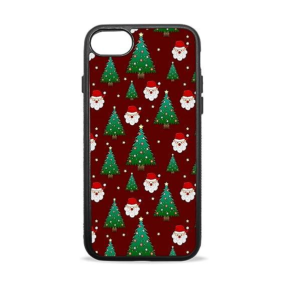 Amazon.com Christmas Tree Red Background iPhone 7 Case