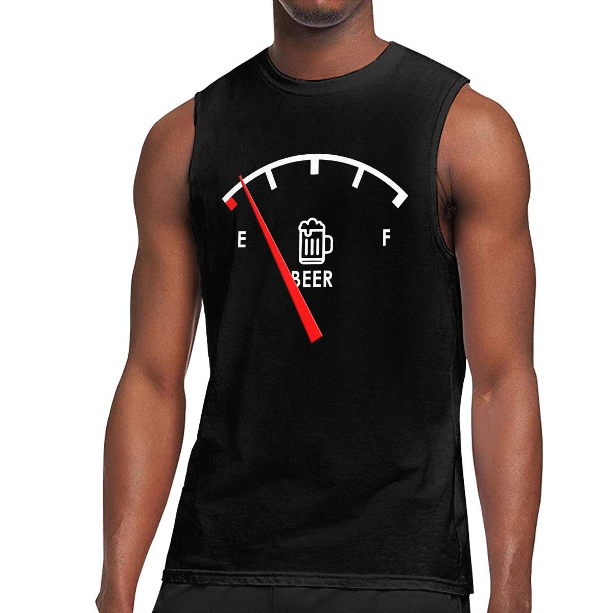 Wpece Almost Out Of Beer S Sleeveless Tshirt Activewear Muscle Tank Tops