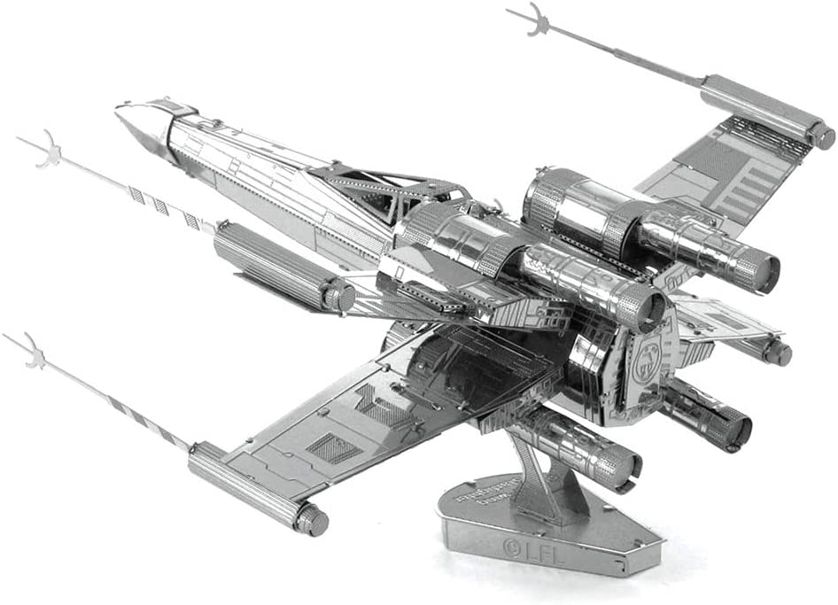 Star Wars Color POE DAMERON/'S X-WING FIGHTER 3d metal Puzzle color