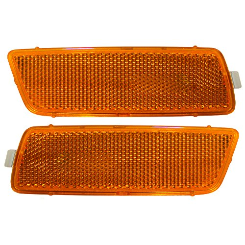 Pair Set Signal Side Marker Light Lamps Units Replacement for Volkswagen Jetta Sedan 1K5 945 071 A 1K5 945 072 A AutoAndArt