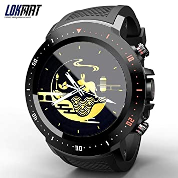 Amazon.com: LOKMAT LK04 4G LTE Smart Watch Men Phone ...