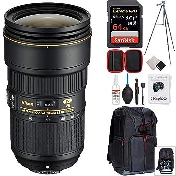 Amazon.com: Nikon 0.945 – 2.756 in f/2,8E ED VR AF-S NIKKOR ...