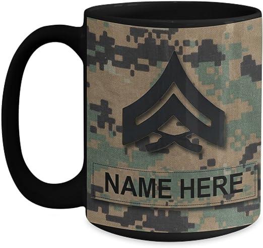 "United States Marine Corps USMC Master Sergeant 3//4/"" Wide Rank Pin"