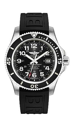Breitling Superocean II 44 Hombres del reloj a17392d7/bd68 - 152S: Amazon.es: Relojes
