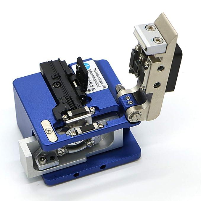 KONG ZI Bh395 Fibra Óptica Cable Cleaver con Metal, Máquina De Soldadura Hoja De Corte Especial Comparable para Cortar Fibra Óptica Cuchillo Herramientas ...