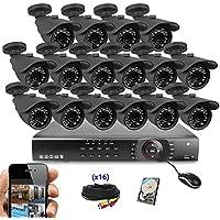 Best Vision Systems 16 Channel 1TB 1080p DVR Security Surveillance Kit