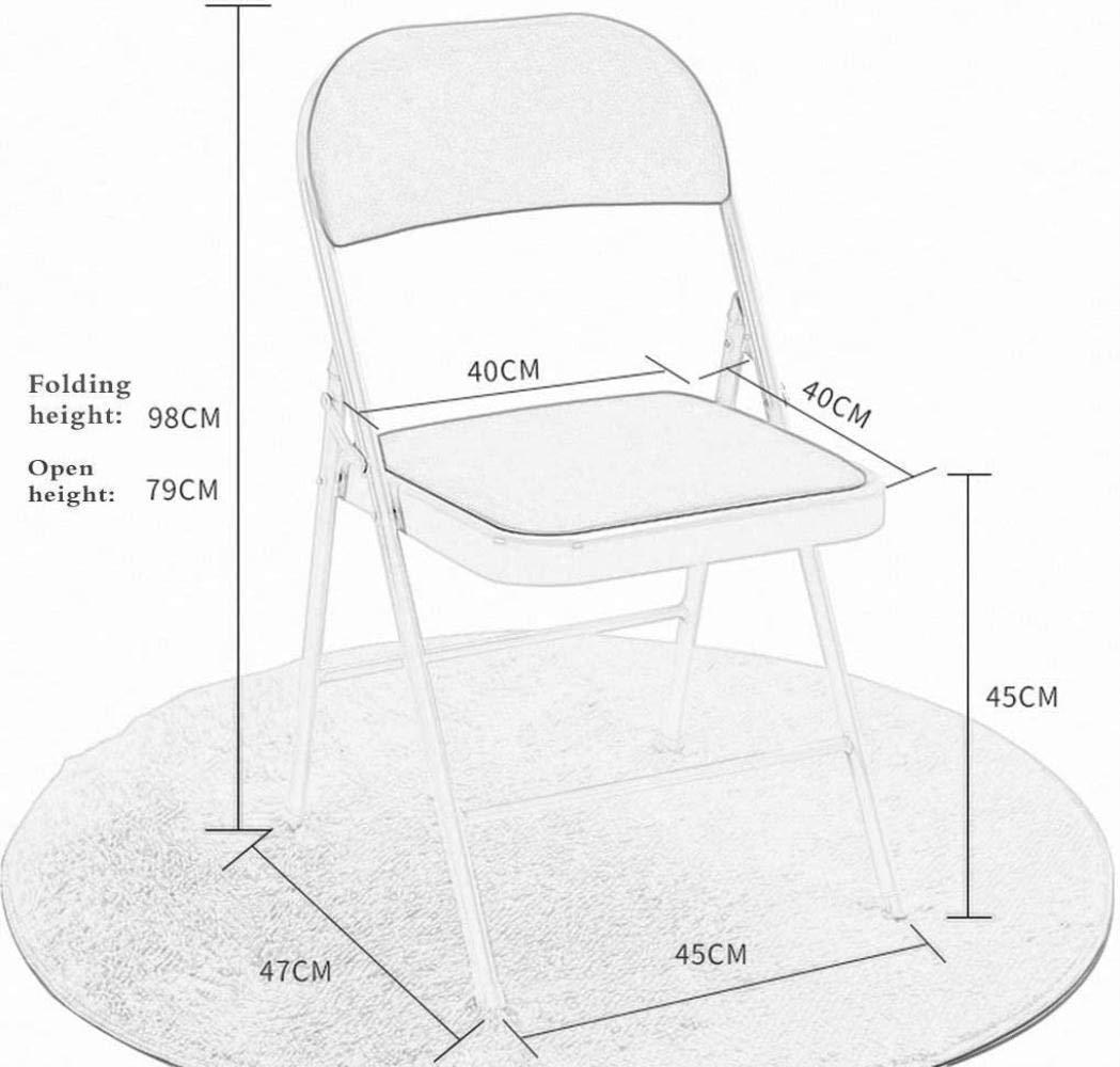 Skrivbordsstolar, konferensfällstol hem dator stol ledig stol enkel kontorsstol pall matstol fåtölj (färg: Svart och blå) Svart och blå