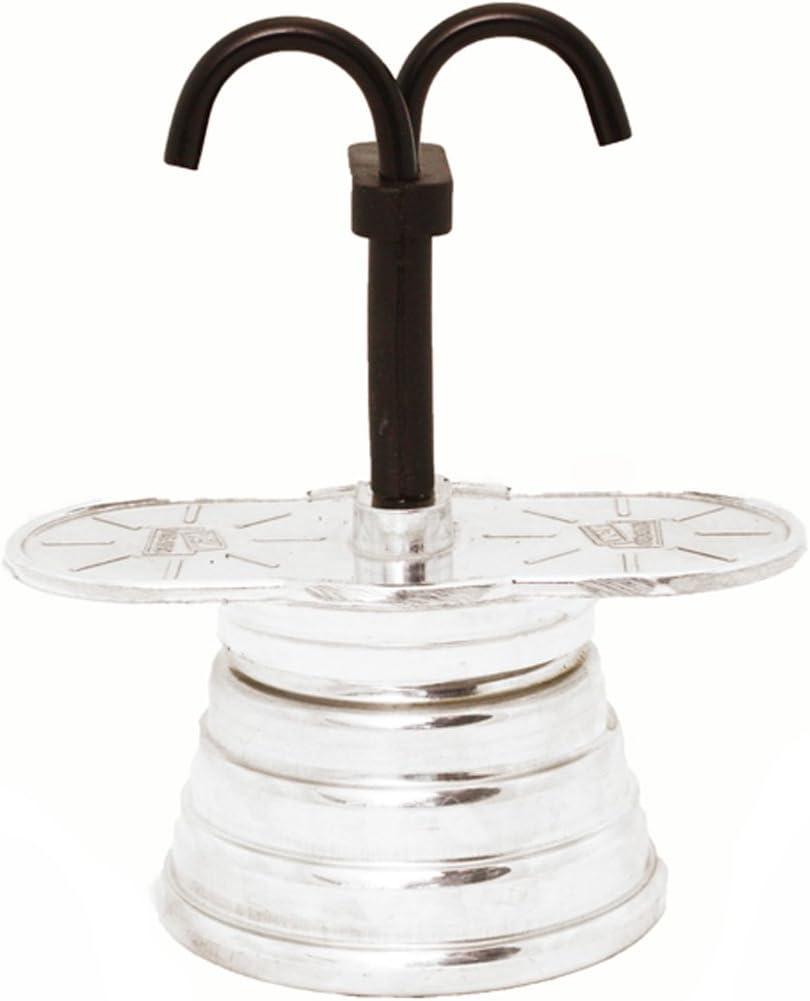 Vev vigano - Cafetera para espresso (para 2 tazas, fabricado en Italia): Amazon.es: Hogar