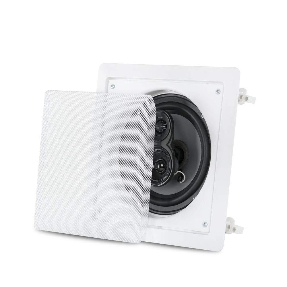 Acoustic Audio CS-I63S in Wall//Ceiling 6.5 Home Theater 3 Way 5 Speaker Set 1500 Watt CS-I63S-5S