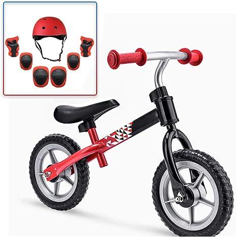CX TECH Bicicleta de Equilibrio para niños Sin Pedal Entrenamiento ...