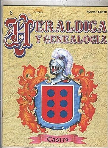 Amazon.com: Heraldica y Genealogia numero 06: Castro: Varios ...