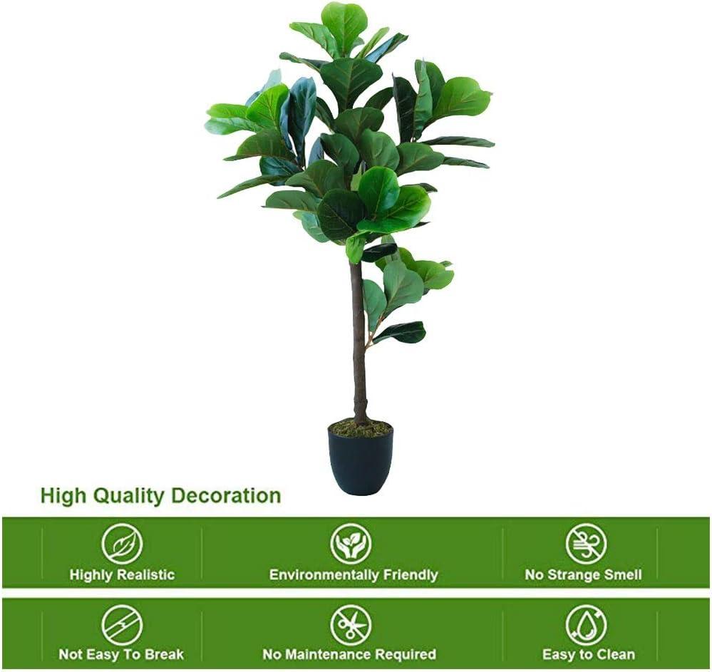 シミュレーション盆栽鉢植え大緑色植物装飾用装飾品、装飾用植物 713 (Size : C)