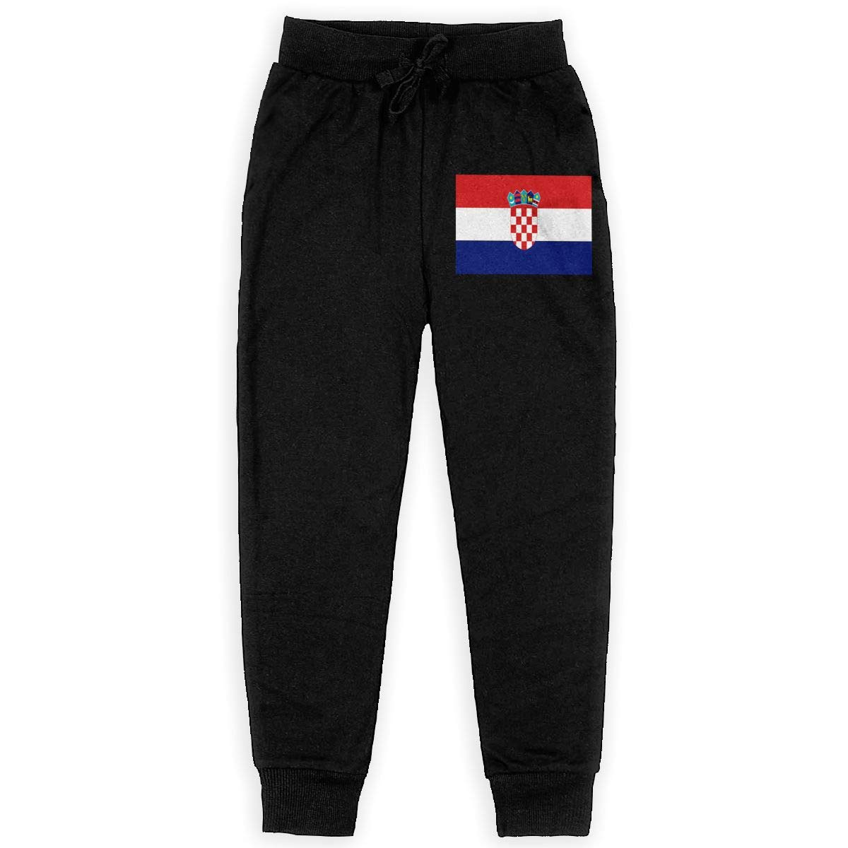Boys Sweatpants Croatian Rainbow Flag Joggers Sport Training Pants Trousers Cotton Sweatpants for Youth