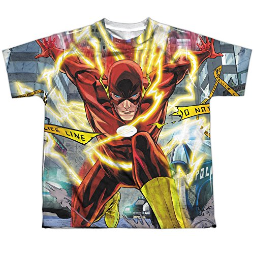 Justice League Police Sublimation Shirt product image