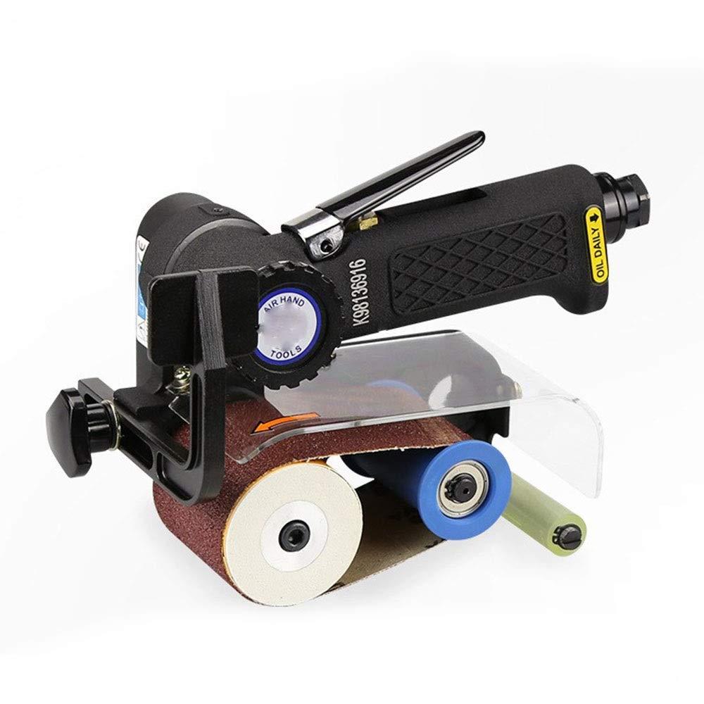 Pneumatic Belt Machine, Pneumatic Metal Wood Mirror Wire Drawing Machine Industrial Grade Hand Tool by XIAOL-Pneumatic Tool