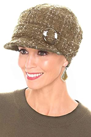 Headcovers Unlimited Raelynn Newsboy Hat - Winter Hats for Women - Cancer  Patients 81ca3b50be5