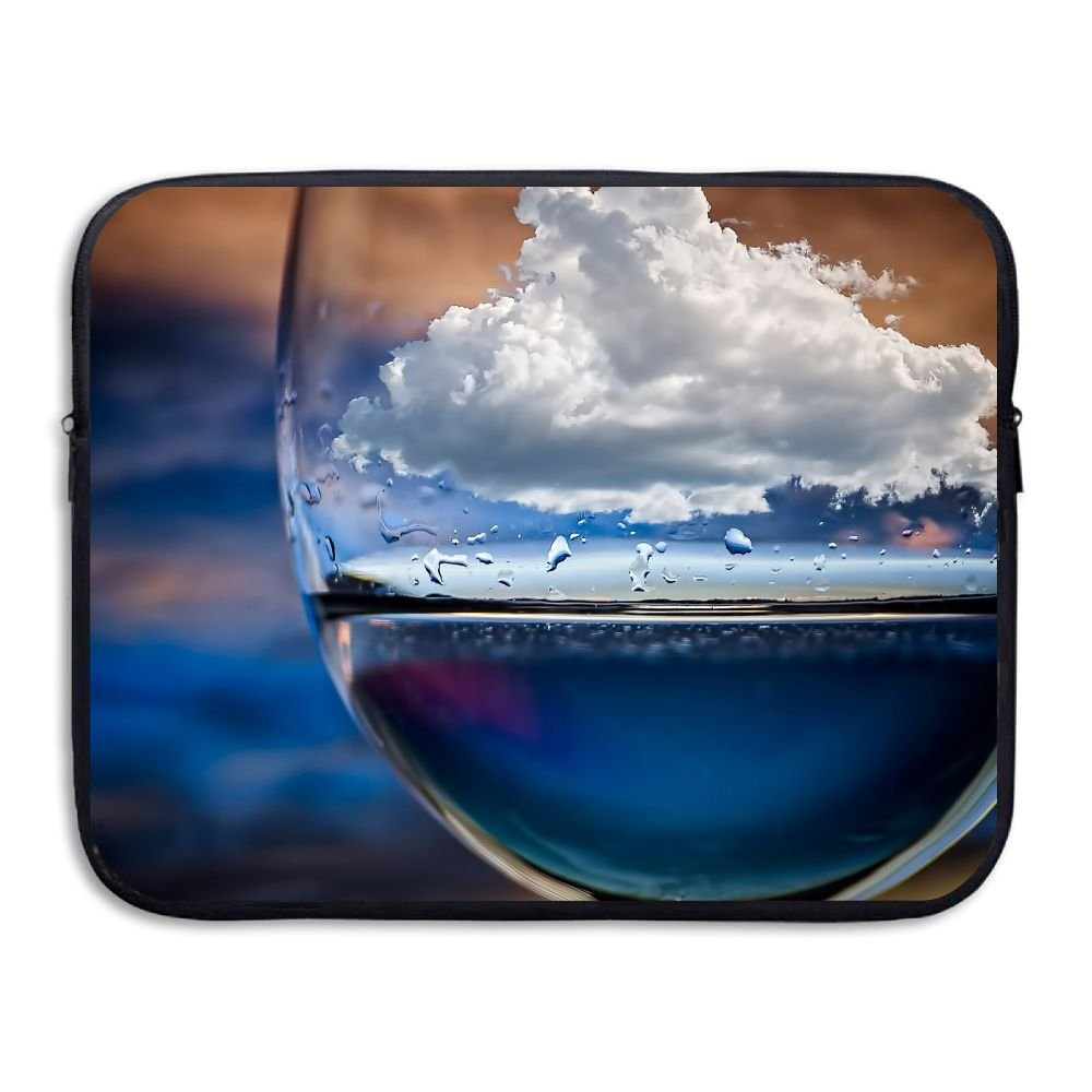 Water-resistant Laptop Bags Glass Sea And Clouds Ultrabook Briefcase Sleeve Case Bags 13 Inch