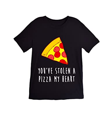 amazon com you ve stolen a pizza my heart t shirt clothing rh amazon com clothes brand with heart logo clothing brand with red heart logo