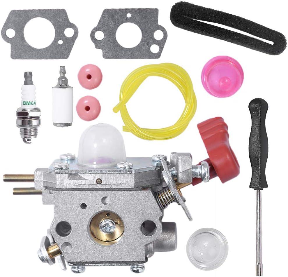 Carburetor Carb for MTD Murray MS2560 41CDZ22C768 Gas String Trimmer