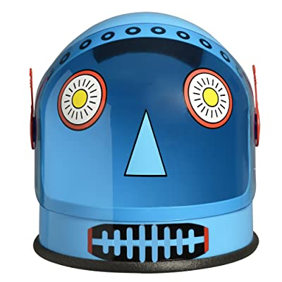 Aeromax Robot Youth Helmet with Moving Visor