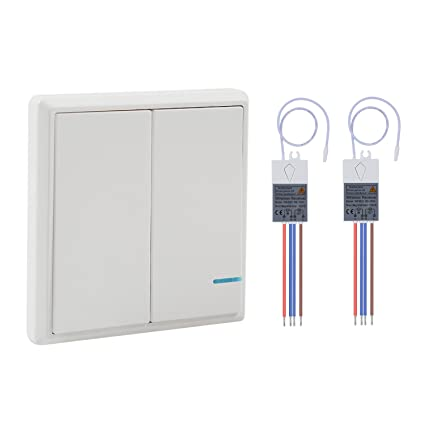 Wsdcam wireless light switch with receiver kit outdoor 1900 ft wsdcam wireless light switch with receiver kit outdoor 1900 ft indoors 229 ft remote ceiling mozeypictures Image collections