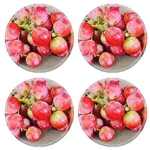 Luxlady Natural Rubber Round Coasters IM - Sauvignon Mirror Shopping Results
