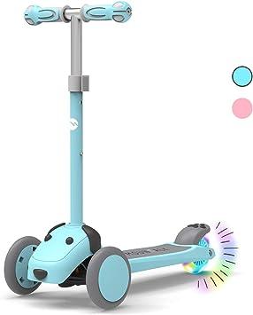 Amazon.com: Mountalk - Patinete de 3 ruedas para niños ...