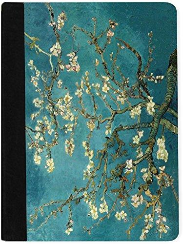 Rikki Knight Van Gogh Almond Blossoms Design Faux Suede N...